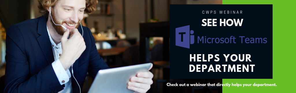 Microsoft Teams Webinar for Departments